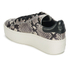 Ash Women's Cult Leather Flatform Trainers - Roccia/Black: Image 5
