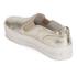 Ash Women's Jungle Leather Flatform Slip-on Trainers - Platine: Image 5