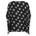 Diane von Furstenberg Women's Adria Blouse - Daisy Buds New Black: Image 2