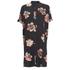 VILA Women's Nadine Short Sleeve Shirt Dress - Black: Image 1
