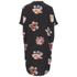 VILA Women's Nadine Short Sleeve Shirt Dress - Black: Image 2