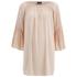 VILA Women's Alantata Long Sleeve Tunic Dress - Pink Sand: Image 1