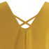 VILA Women's Sora Short Sleeve Blouse - Golden Yellow: Image 4