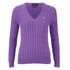 Polo Ralph Lauren Women's Kimberly Jumper - Laguna Purple: Image 1