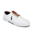 Polo Ralph Lauren Men's Faxon Canvas Trainers - White: Image 4