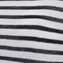 T by Alexander Wang Women's Stripe Rayon Linen Short Sleeve T-Shirt - Ink and Ivory: Image 3