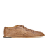 H Shoes by Hudson Men's Barra Woven Leather Shoes - Tan: Image 1