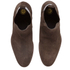H Shoes by Hudson Men's Watts Suede Chelsea Boots - Brown: Image 2