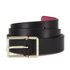 Paul Smith Accessories Women's Leather Contrast Belt - Black: Image 1