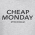 Cheap Monday Men's Rules Logo Sweatshirt - Grey Melange: Image 3