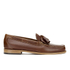 Bass Weejuns Men's Layton Pull Up Kiltie Leather Loafers - Mid Brown: Image 1