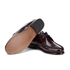 Bass Weejuns Women's Evie Lace Leather Moccasins - Wine: Image 6