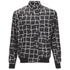 McQ Alexander McQueen Men's Harrington Bomber Jacket - Dark Black Mid Square: Image 1