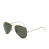 Ray-Ban Aviator Large Metal Sunglasses 58mm - Mirrow Multi Green: Image 2