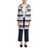 HUGO Women's Micola Striped Coat - Multi: Image 2
