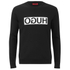 HUGO Men's Dicago Crew Neck Sweater - Black: Image 1