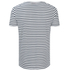 HUGO Men's Dhoenix Striped T-Shirt - White: Image 2