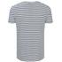 HUGO Men's Dhoenix Striped T-Shirt - White: Image 2