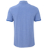 HUGO Men's Denno Collar Detail Polo Shirt - Electric Blue: Image 2