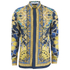 Versace Collection Men's Silk Printed Shirt - Blue: Image 1