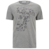 Versace Collection Men's Medusa T-Shirt - Grey: Image 1