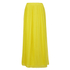 BOSS Orange Women's Beflowy Pleated Maxi Skirt - Yellow: Image 1