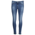 BOSS Orange Women's J10 Florida Frayed Cuff Jeans - Blue: Image 1