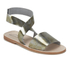 Prism Women's Naxos Ankle Strap Leather Sandals - Rust Metal: Image 5