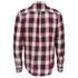 OBEY Clothing Men's Ridley Woven Long Sleeve Shirt - Red Check: Image 2