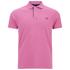 GANT Men's Contrast Collar Pique Polo Shirt - Bubblegum: Image 1