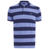 GANT Men's Barstripe Pique Rugger Polo Shirt - Lavender Blue: Image 1