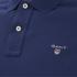 GANT Men's Original Pique Polo Shirt - Persian Blue: Image 3
