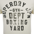Superdry Men's Boxing Yard Short Sleeve T-Shirt - Gym Ecru: Image 3