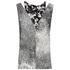 KENZO Women's Sand Silk Sleeveless Top - Antracite: Image 1