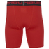 Under Armour Mens Heatgear Compression Shorts – Red : Image 3