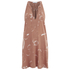 OBEY Clothing Women's Capricorn Dress - Apricot Multi: Image 1