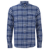 Paul Smith Jeans Men's Tailored Fit Check Shirt - Blue: Image 1