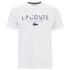 Lacoste Men's Large Logo T-Shirt - White: Image 1