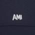AMI Men's Crew Neck Sweatshirt - Navy: Image 3