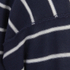 AMI Men's Oversized Crew Neck Sweatshirt - Navy/White: Image 3