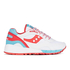 Saucony Shadow 6000 Trainers - White/Red: Image 1