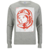 Billionaire Boys Club Men's Billionaire Fiti Crew Neck Sweatshirt - Heather Grey: Image 1