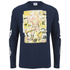 Billionaire Boys Club Men's Astro Poster Long Sleeve T-Shirt - Navy Blazer: Image 1