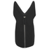 Alexander Wang Women's Sleeveless V-Neck Tunic Top with Zipper Detail - Onyx: Image 2
