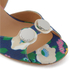 Carven Women's High Floral Sandals - Multi: Image 5