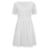 Carven Women's Laser Cut Shift Dress - White: Image 1