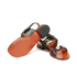 Carven Women's Flat Popper Sandals - Black: Image 6