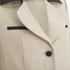Carven Women's Linen Coat - Beige: Image 4