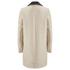 Carven Women's Linen Coat - Beige: Image 3