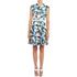 Carven Women's Floral Mini Dress - Multi: Image 2